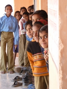 Students at A Room To Read Program School in Northern India