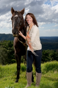 Me and my gorgeous horse Morocco.