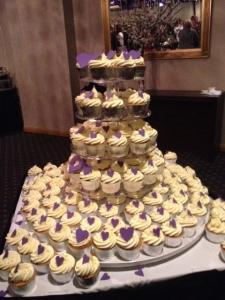 Destiny Romance Cupcakes.